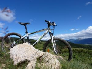 mountain bike frontal